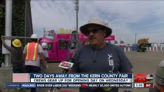 Kern County Fair is gearing up for opening day