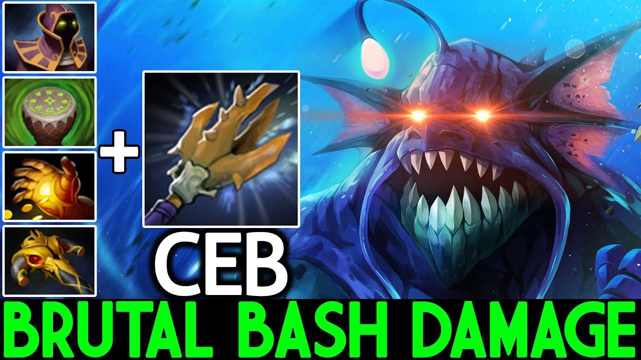 CEB [Slardar] New Imba Offlaner Brutal Bash Damage Dota 2