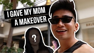 GIVING MY MOM A BIRTHDAY MAKEOVER + SURPRISE