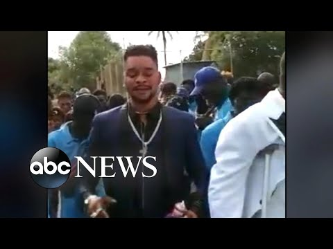 Haiti gang leader threatens American captives in new video l GMA