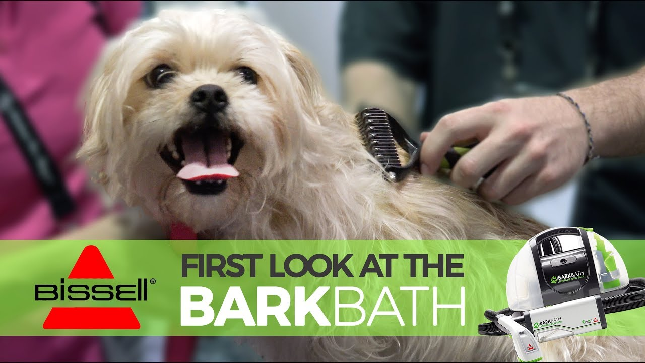 New Product Review The Bissell Barkbath Better Bath Time Youtube