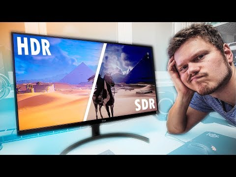 HDR Gaming Monitors - STILL Not Ready for Prime Time??