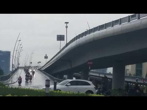 THU THIEM BRIDGE IN SAIGON