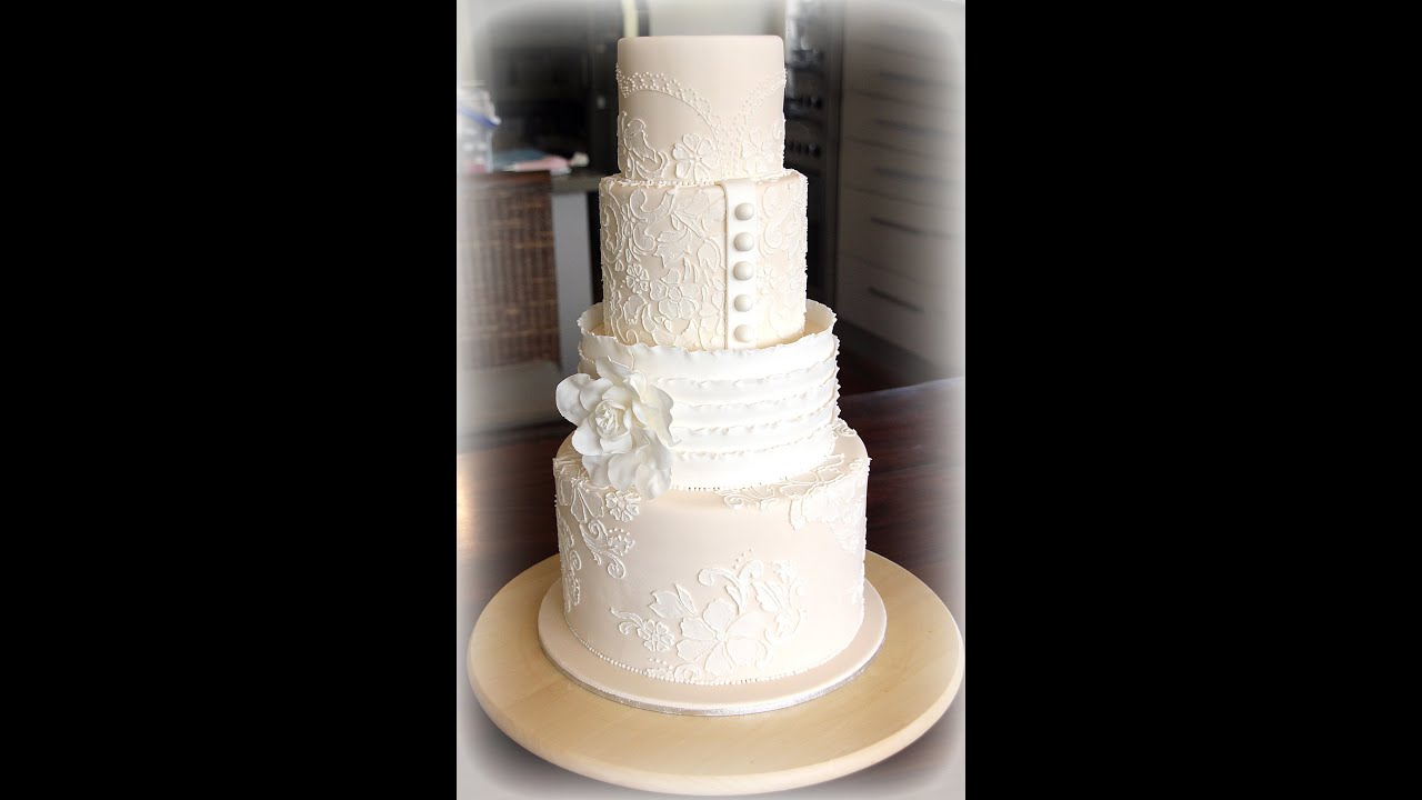 Vintage Wedding Cakes YouTube
