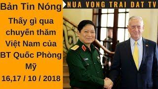 🆕 Thấy gì qua chuyến thăm Việt Nam của BT Quốc phòng Mỹ James Mattis ???