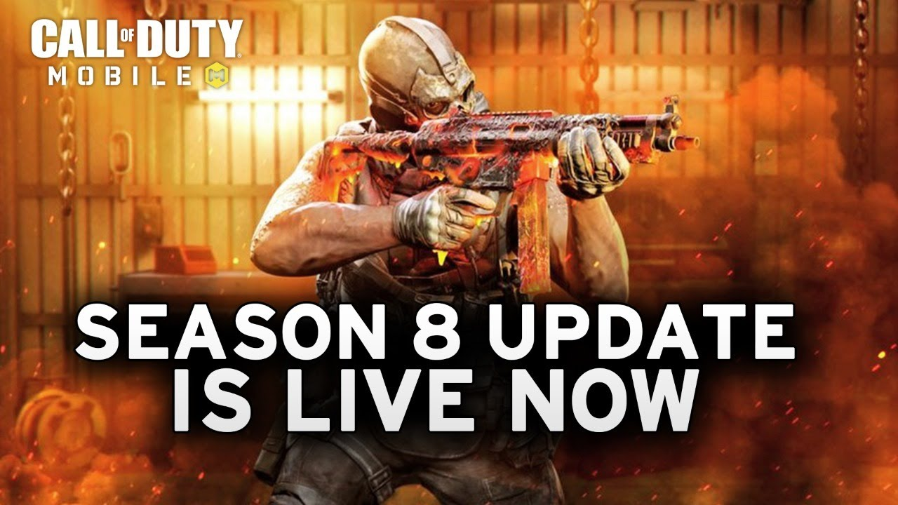 COD MOBILE SEASON 8 UPDATE IS LIVE!! - Call of Duty Mobile