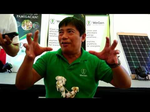 "WeGen President Atty. Sarge Sarmiento talks about ""Kahayag sa Pamilacan"" Project in Bohol"