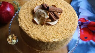 Яблочный торт АПФЕЛЬМУСС тающая нежность Полный восторг Apfelmus Torte