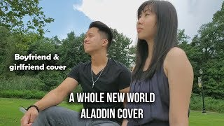 Kevin X Gabby 39 A Whole New World 39 Aladdin bf gf cover