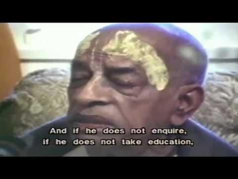 Dog Never Inquires_Short Speech by Srila Prabhupada By HareKrishnaMedia