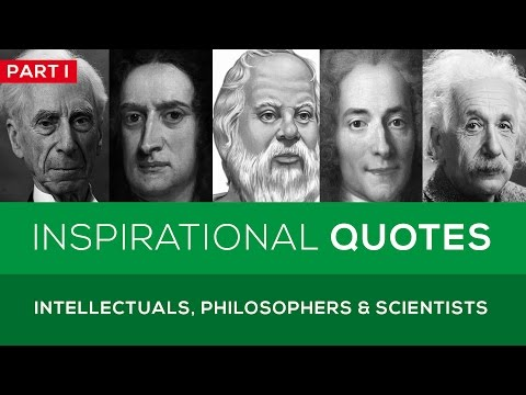 🔴 25 Great Quotes from Famous Intellectuals, Philosophers &
