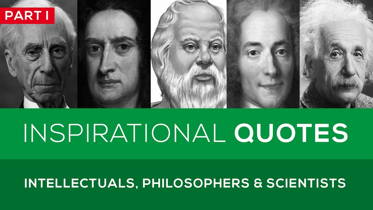 25 Great Quotes from Famous Intellectuals, Philosophers ...