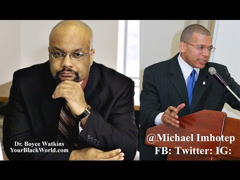 """EMPIRE: The Coonery of The Entertainment Ghetto"" - Dr. Boyce Watkins Interivew - 3-19-15"