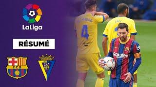 🇪🇸 Résumé - LaLiga : Le Barça bute contre Cadiz à domicile !