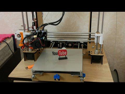 видео: 3D printer Anet A8 (RepRap)  - хорошая игрушка для больших детей