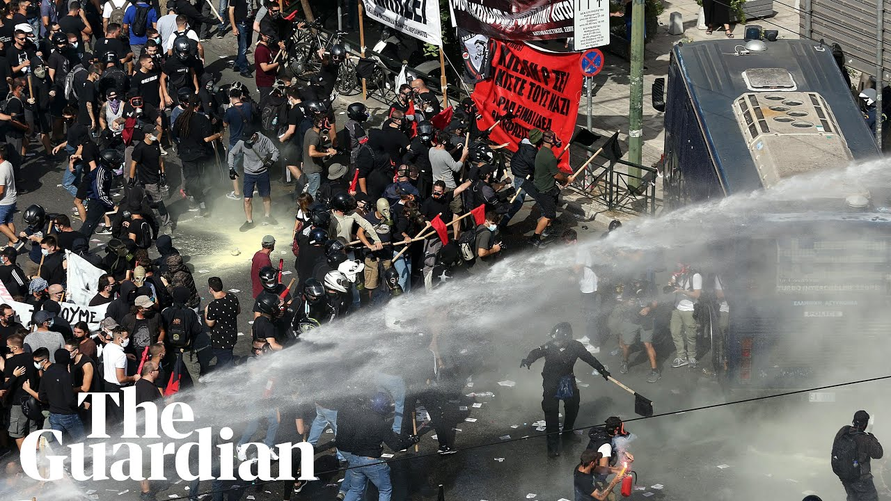 Download Golden Dawn: clashes follow landmark court ruling in Athens