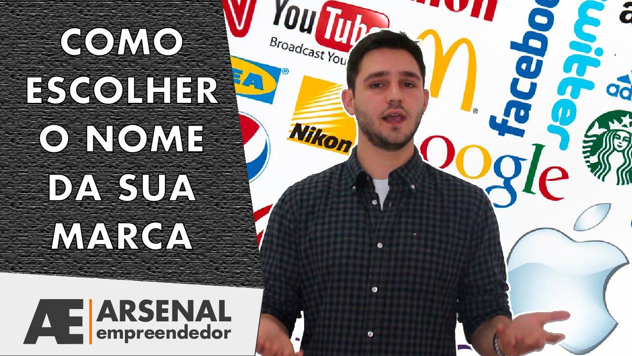 42ea16a4b3c Como Escolher Um Nome De Marca Para Sua Empresa Ou Produto - YouTube