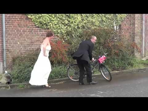1. mariage / trouw Fred & Veerle 13.09.2014 : film d'entrée des mariés
