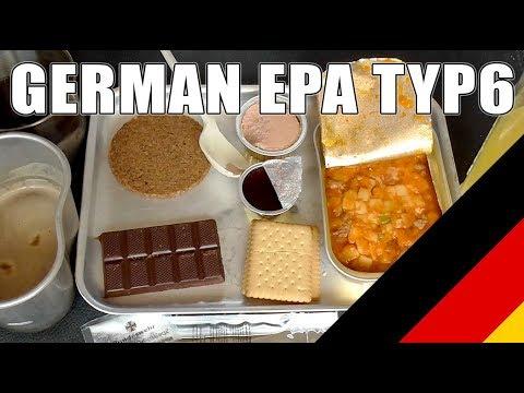 MRE Review: German EPA Combat Ration Typ 6