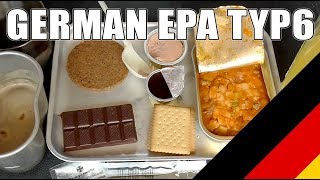 MRE Review: German EPA Combat Ration Typ 6