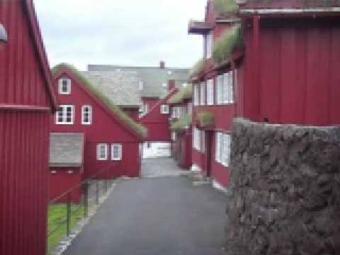 "Faroe islands  The ""Tinganes"""