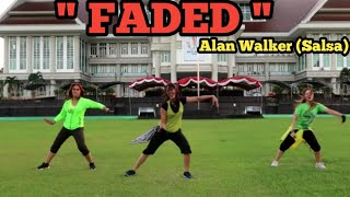 """ Faded By Alan Walker (Salsa ) /Sangatta,Kutai Timur"