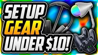 TOP 10 BEST GAMING SETUP ACCESSORIES UNDER $10! BEST BUDGET GAMING ACCESSORIES FOR YOUTUBERS! [2018]