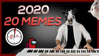 2020 in 20 MEMES (in 2 Min. and 20 Sec.)