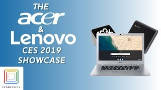 Acer and Lenovo Private Showings at CES 2019