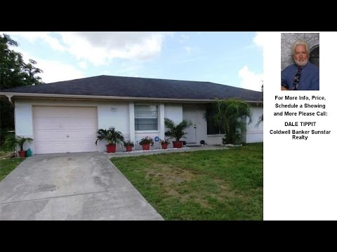 21328 WYNYARD AVENUE, PORT CHARLOTTE, FL Presented by DALE TIPPIT.