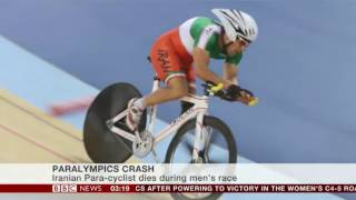 Rio Paralympics 2016 Iranian Para cyclist dies following crash