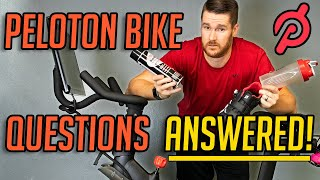 Peloton Bike - Top 20 Questions Answered (Concerns, Products, Care, and More!)