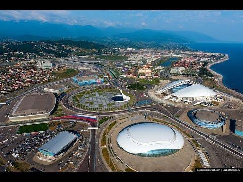 VLOG///Отпуск 5 серия.....Сочи олимпийские объекты....