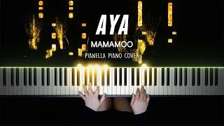 MAMAMOO - AYA | Piano Cover by Pianella Piano видео