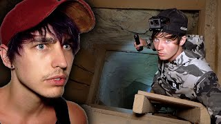 Found TREASURE in Haunted Mine at Abandoned Ghost Town