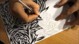 Tribal Drawing Gets Finished + New Channel Design
