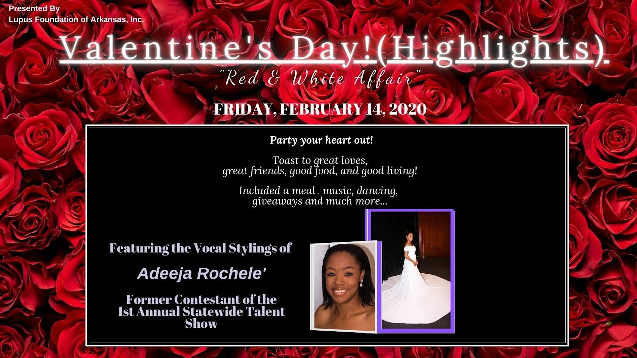 2020 Valentine's Day (Red & White Affair) Highlights  : LFOA, Inc.