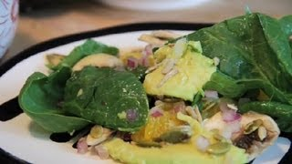 Orange & Avocado Salad With Sesame Oil : Avocado Recipes