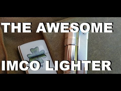 The Awesome IMCO Lighter