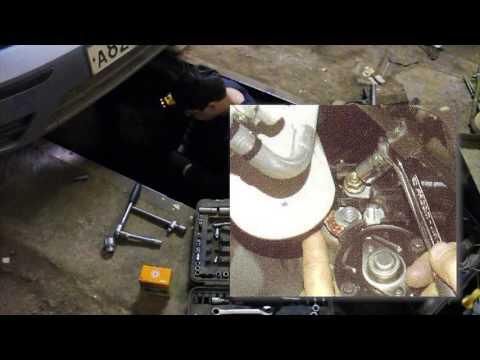 Замена стартера на форд фокус 1, Duratec, 1 6, снятие стартера