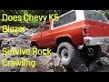 RC4WD Chevy K5 Blazer Slow Crawling @Lil Moab | Scale Crawling #4