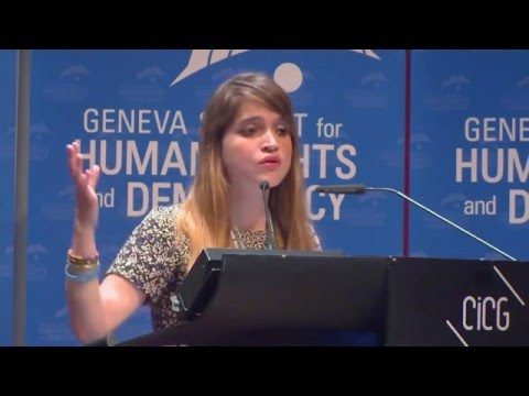 Antonietta Ledezma at Geneva Summit 2016