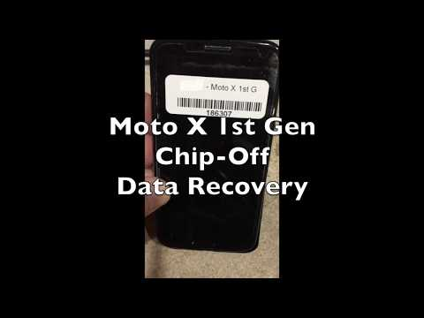 Moto X 1st Gen Chip-off Data Recovery