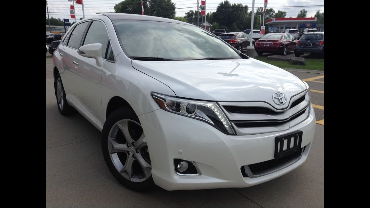 2016 Toyota Venza >> New 2016 Toyota Venza V6 Awd Limited Review 1000 Islands Toyota