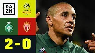 Da muss Borussia Dortmund keine Angst haben: Saint-Etienne - AS Monaco 2:0 | Ligue 1 | DAZN