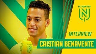 """Cristian Benavante : """"Un nouveau challenge"""""""