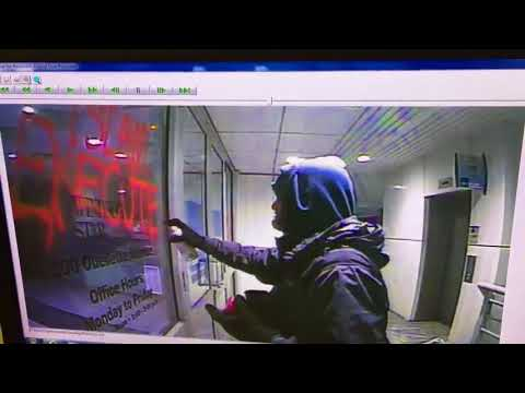 Vandal sprays Islamic-themed graffiti on Windsor Star building