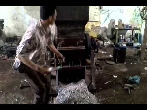 Mesin Penghancur Plastik - Bengkel 99 Surabaya ( Trial For Jember )