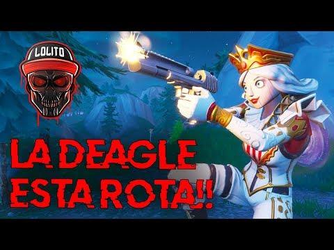 💀 ¡ESTOY ENAMORADO DE LA DEAGLE! 💀 ~ FORTNITE thumbnail