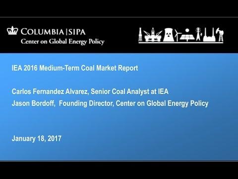 IEA 2016 Medium Term Coal Market Report